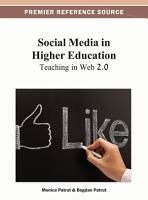 Social Media in Higher Education PDF