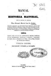 Manual de historia natural