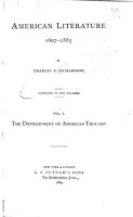 The development of American thought PDF