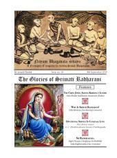 NBS#20: **The Glories of Srimati Radharani**