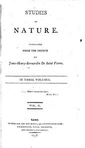 Studies of Nature: In Three Volumes, Volume 2