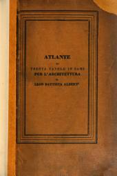 I dieci libri de l'Architettura ... Tradotta in lingua Fiorentina, da C. Bartoli. Con la aggiunta de disegni, etc. L.P.