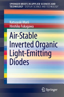 Air Stable Inverted Organic Light Emitting Diodes