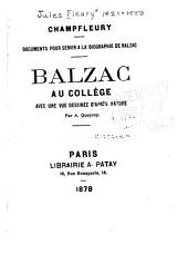 Balzac au collège