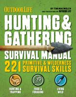 Outdoor Life  Hunting   Gathering Survival Manual PDF