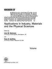 Handbook of Vibrational Spectroscopy