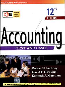 Accounting   Text   Cases 12E Book