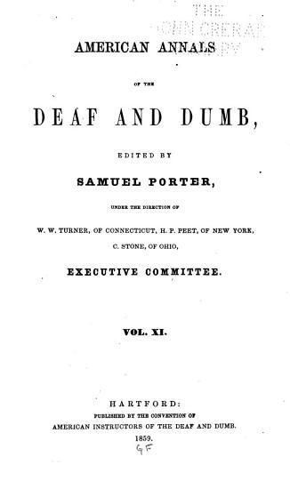 American Annals of the Deaf PDF