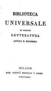 Storia delle guerre civili di Francia. Milano 1833-1834