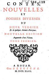 Contes, nouvelles et poesies diverses du Sieur Vergier et de quelques auteurs anonymes