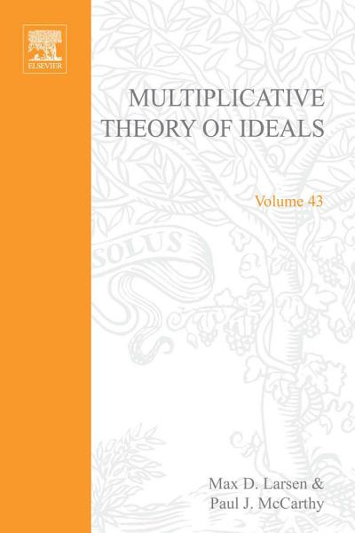 Multiplicative Theory of Ideals PDF