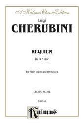 Requiem in D Minor: For TTBB Chorus/Choir and Orchestra with Latin Text (Choral Score)