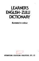Learner's English-Zulu Dictionary