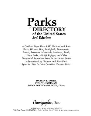 Parks Directory of the United States PDF