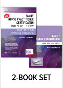 FAMILY NURSE PRACTITIONER CERTIFICATION INTENSIVE REVIEW WITH Q&A FLASHCARDS SET.