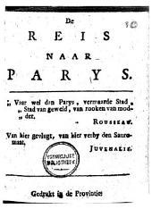De reis naar Parys: gedrukt in de provintie