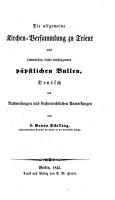 Concilium Tridentinum  Deutsch  mit Nachweisunger und kirchenrechtlichen Anmerkungen von D  B  Schilling PDF