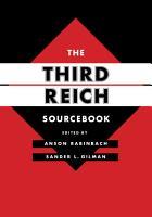The Third Reich Sourcebook PDF