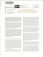 State Archeology Weeks PDF