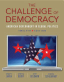 The Challenge of Democracy  Book Only