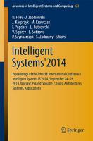 Intelligent Systems 2014 PDF