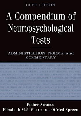 A Compendium of Neuropsychological Tests PDF
