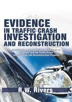 Evidence in Traffic Crash Investigation and Reconstruction PDF