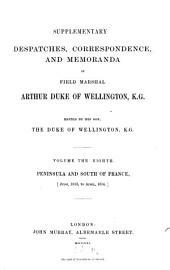 Supplementary Despatches, Correspondence, and Memoranda: Volume 8