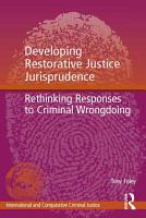 Developing Restorative Justice Jurisprudence PDF