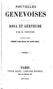 Nouvelles genevoises: --Rosa et Gertrude