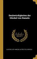 Denkw  rdigkeiten Der Gl  ckel Von Hameln PDF