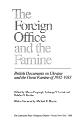 The Foreign Office And The Famine Book PDF