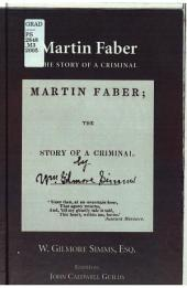 "Martin Faber: The Story of a Criminal with ""Confessions of a Murder"""