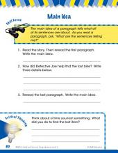 Read & Succeed Comprehension Level 1: Main Idea Passages and Questions