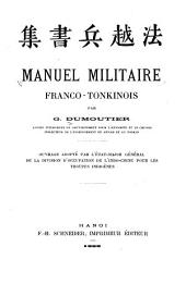 Manuel militaire franco-tonkinois