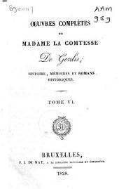 Œuvres complètes de Madame la Comtesse De Genlis: Volume5