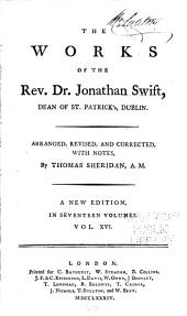The Works of the Rev. Dr. Jonathan Swift ...