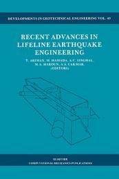 Recent Advances in Lifeline Earthquake Engineering