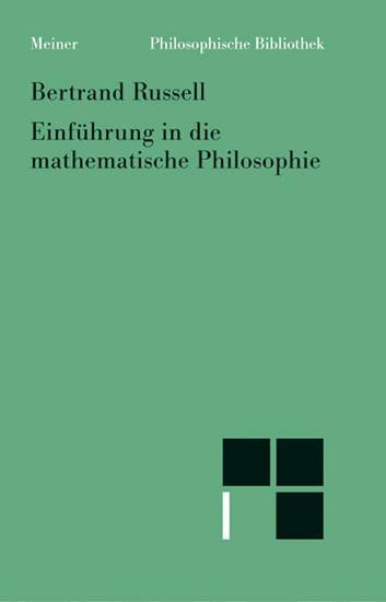 Einf  hrung in die mathematische Philosophie PDF