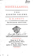 MISCELLANIES. THE EIGHTH VOLUME. The SECOND EDITION.