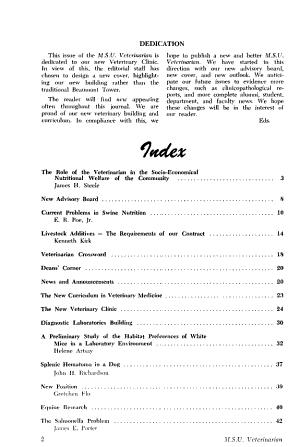 M S U  Veterinarian PDF