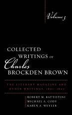 Collected Writings of Charles Brockden Brown PDF