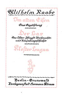 Der heilige Born  Nach dem grossen Kriege PDF