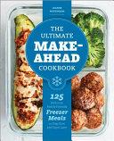 The Ultimate Make Ahead Cookbook Book
