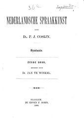 Nederlandsche spraakkunst: met oefeningen. Syntaxis. II
