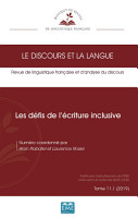Les d  fis de l   criture inclusive PDF