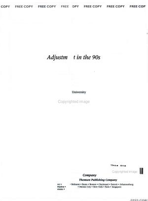 Psychology Applied to Modern Life adjustment in the 90s PDF