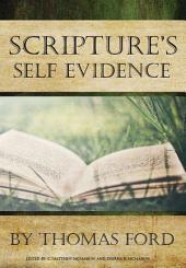 Scripture's Self Evidence