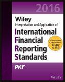 Wiley 2016 Interpretation and Application of International Financial Reporting Standards PDF