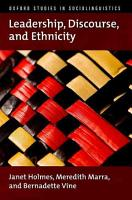 Leadership  Discourse  and Ethnicity PDF